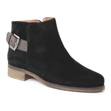 Bottines Et Boots Scarlatine 8852b Noir, vue principale de la chaussure femme
