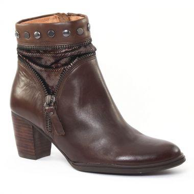 Bottines Et Boots Mamzelle Zelie Moka, vue principale de la chaussure femme