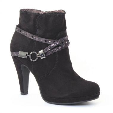 Bottines Et Boots Marco Tozzi 25075 Black, vue principale de la chaussure femme