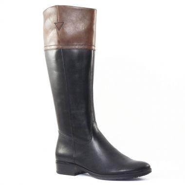 Bottes Tamaris 25500 Black Café, vue principale de la chaussure femme