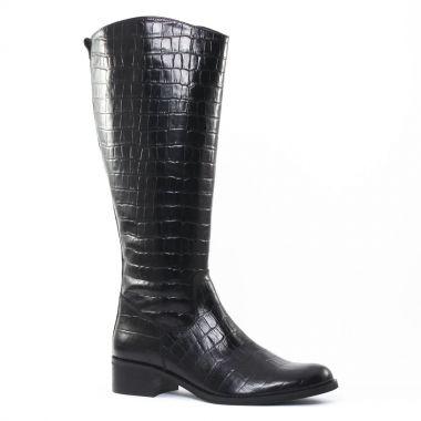 Bottes Costa Costa PintoDiBlu 77790 Noir, vue principale de la chaussure femme