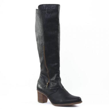 Bottes Rieker Z7690 Noir, vue principale de la chaussure femme