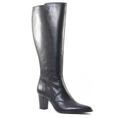 Bottes Scarlatine Finon Noir, vue principale de la chaussure femme