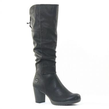 Bottes Marco Tozzi 25515 Black, vue principale de la chaussure femme