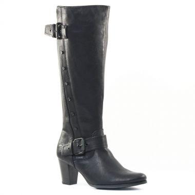 Bottes Marco Tozzi 25516 Black, vue principale de la chaussure femme