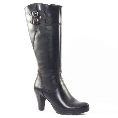 Bottes Tamaris 25569 Black, vue principale de la chaussure femme