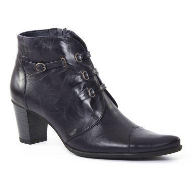Bottines Et Boots Dorking 6442 Deisy Bleu, vue principale de la chaussure femme