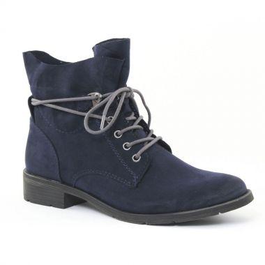 Bottines Et Boots Marco Tozzi 25100 Navy, vue principale de la chaussure femme