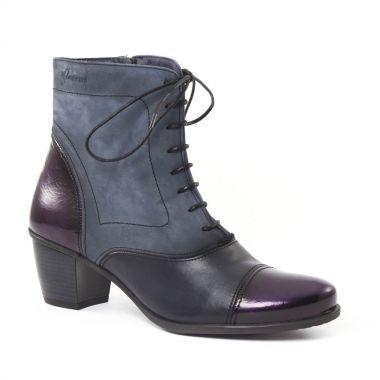 Bottines Et Boots Dorking 6072 Brisda Bleu, vue principale de la chaussure femme