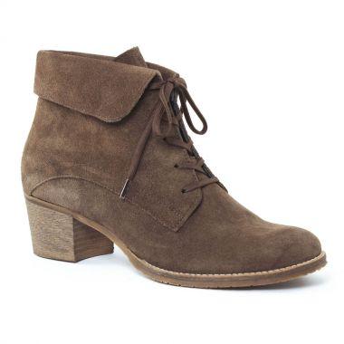 Bottines Et Boots Scarlatine 3313 Taupe, vue principale de la chaussure femme