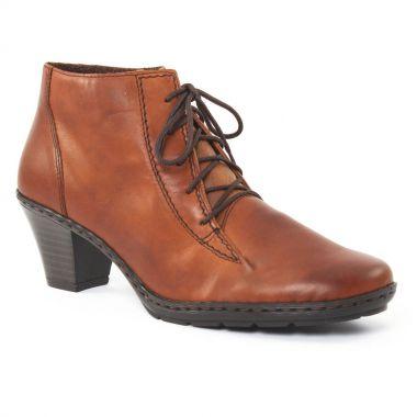 Bottines Et Boots Rieker 57112 Muscat, vue principale de la chaussure femme