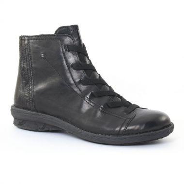 Bottines Et Boots Khrio 1007 Noir, vue principale de la chaussure femme