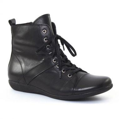 Bottines Et Boots Scarlatine 3605 Noir, vue principale de la chaussure femme