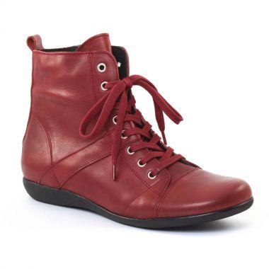 Bottines Et Boots Scarlatine 3605 Rouge, vue principale de la chaussure femme