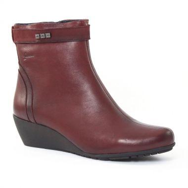 Bottines Et Boots Dorking 6010 Vino, vue principale de la chaussure femme