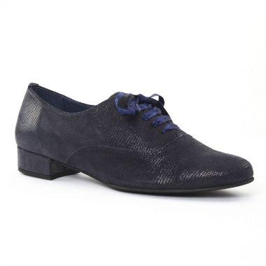 Chaussures À Lacets Pintodiblu 3703 Bleu, vue principale de la chaussure femme