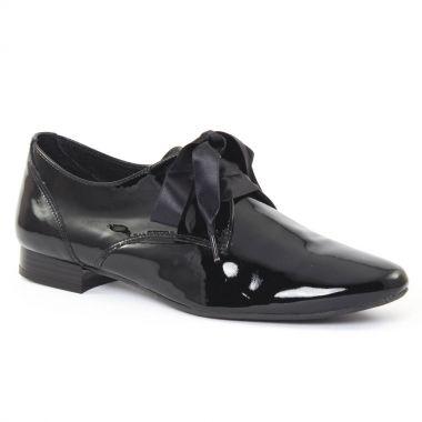 Chaussures À Lacets Scarlatine 9411 Vernis Noir, vue principale de la chaussure femme