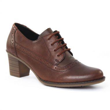 Chaussures À Lacets Rieker L7610 Mahagoni, vue principale de la chaussure femme