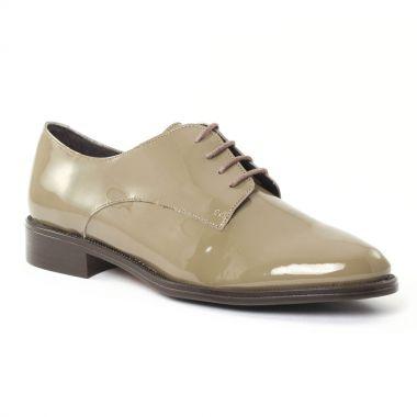 Chaussures À Lacets Scarlatine 22034 Vernis Taupe, vue principale de la chaussure femme