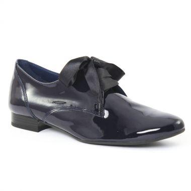 Chaussures À Lacets Scarlatine 9411 Vernis Navy, vue principale de la chaussure femme