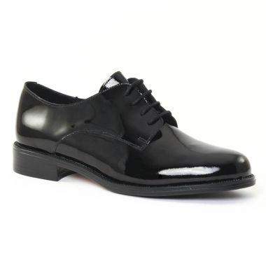 Chaussures À Lacets Scarlatine 22034 vernis noir, vue principale de la chaussure femme