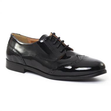 Chaussures À Lacets Scarlatine 5258706 Noir, vue principale de la chaussure femme
