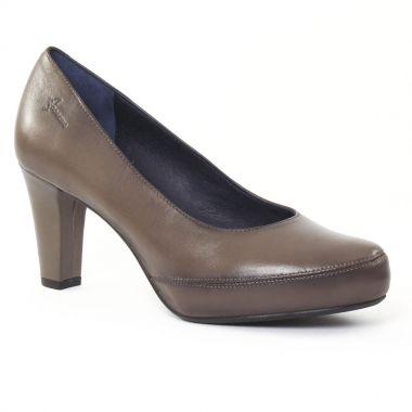 Escarpins Dorking 5794 Graphite, vue principale de la chaussure femme