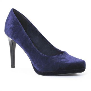 Escarpins Tamaris 22460 Navy, vue principale de la chaussure femme