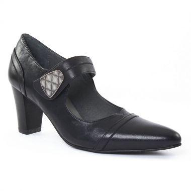 Escarpins Fugitive Maldo Noir Noir, vue principale de la chaussure femme