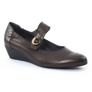 Escarpins Scarlatine 7856 Bronze, vue principale de la chaussure femme