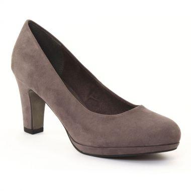 Escarpins Tamaris 22420 Graphite, vue principale de la chaussure femme