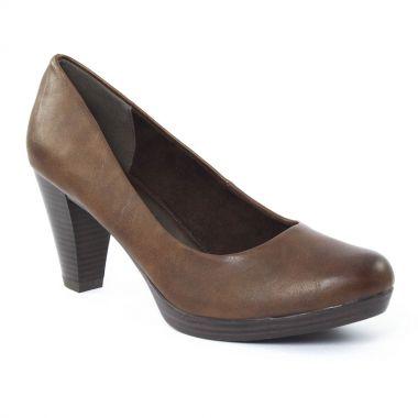 Escarpins Marco Tozzi 22402 Café, vue principale de la chaussure femme