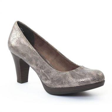 Escarpins Tamaris 22409 Taupe, vue principale de la chaussure femme