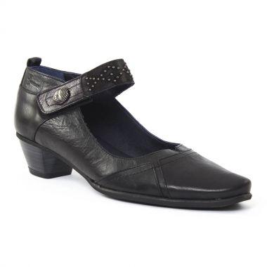Escarpins Dorking 6487 Edurne Noir, vue principale de la chaussure femme
