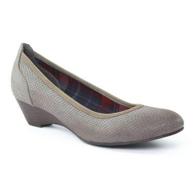 Escarpins Tamaris 22304 Graphite, vue principale de la chaussure femme