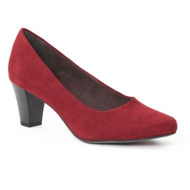 Escarpins Tamaris 22430 Merlot, vue principale de la chaussure femme