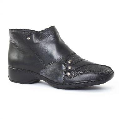 Bottines Et Boots Rieker L3873 Noir, vue principale de la chaussure femme