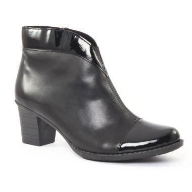 Bottines Et Boots Rieker z7664 Noir, vue principale de la chaussure femme