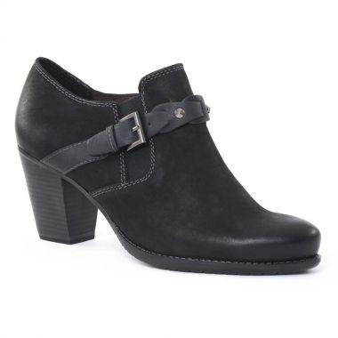 Bottines Et Boots Tamaris 24409 black, vue principale de la chaussure femme