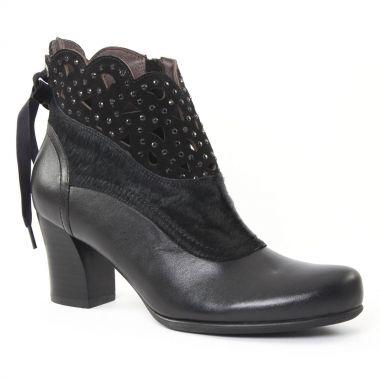 Bottines Et Boots Mamzelle Ixia Noir, vue principale de la chaussure femme