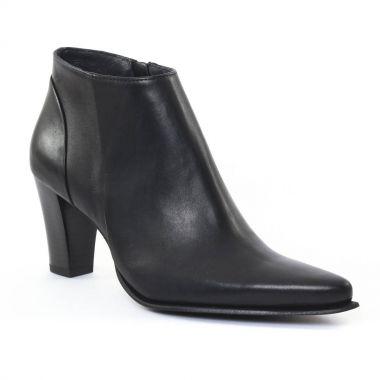Bottines Et Boots Scarlatine Jasa Noir, vue principale de la chaussure femme