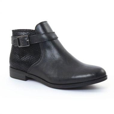 Bottines Et Boots Tamaris 25083 Black Black, vue principale de la chaussure femme