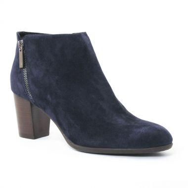 Bottines Et Boots Jb Martin Cottage Bleu, vue principale de la chaussure femme