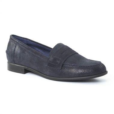 Mocassins Costa Costa PintoDiBlu 10570 Bleu, vue principale de la chaussure femme