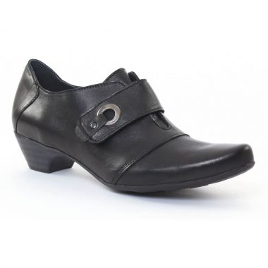 Mocassins Scarlatine 2214 Noir, vue principale de la chaussure femme
