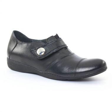 Mocassins Scarlatine 2244 Noir, vue principale de la chaussure femme
