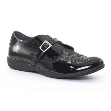 Mocassins Scarlatine 7729 Noir, vue principale de la chaussure femme