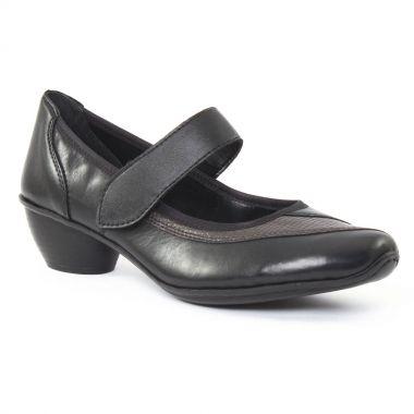 Babies Rieker 43751 Noir, vue principale de la chaussure femme