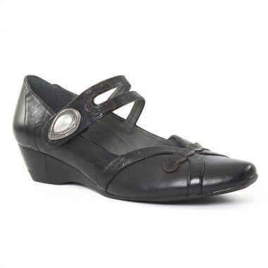 Escarpins Fugitive Scoop Noir Noir, vue principale de la chaussure femme