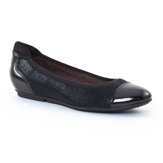 Ballerines Tamaris 22101 Black, vue principale de la chaussure femme